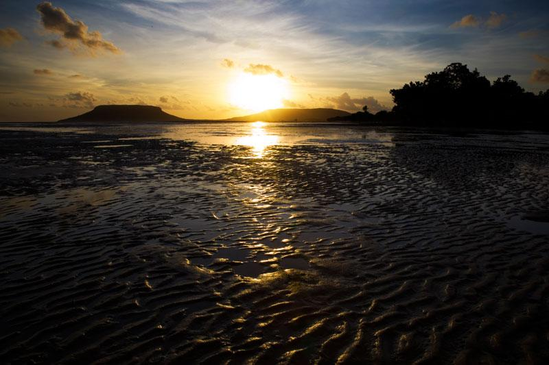 Sunset on Elim BeachStunning sunsets can be seen over this beautiful stretch of coastline