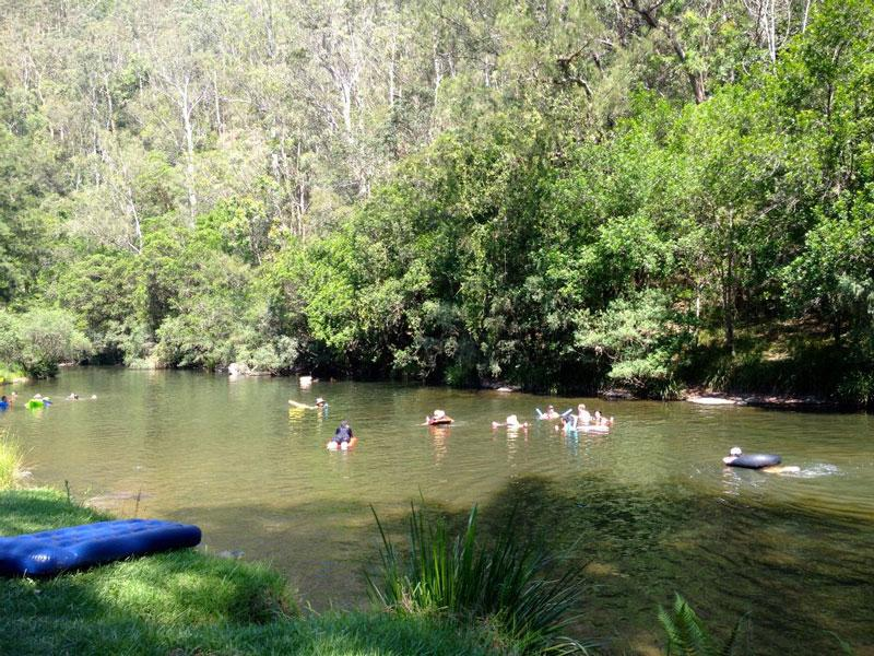 RiverBring your lilo or inner tube and enjoy the river at Ferndale Park